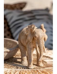 Elefante Resina Beige